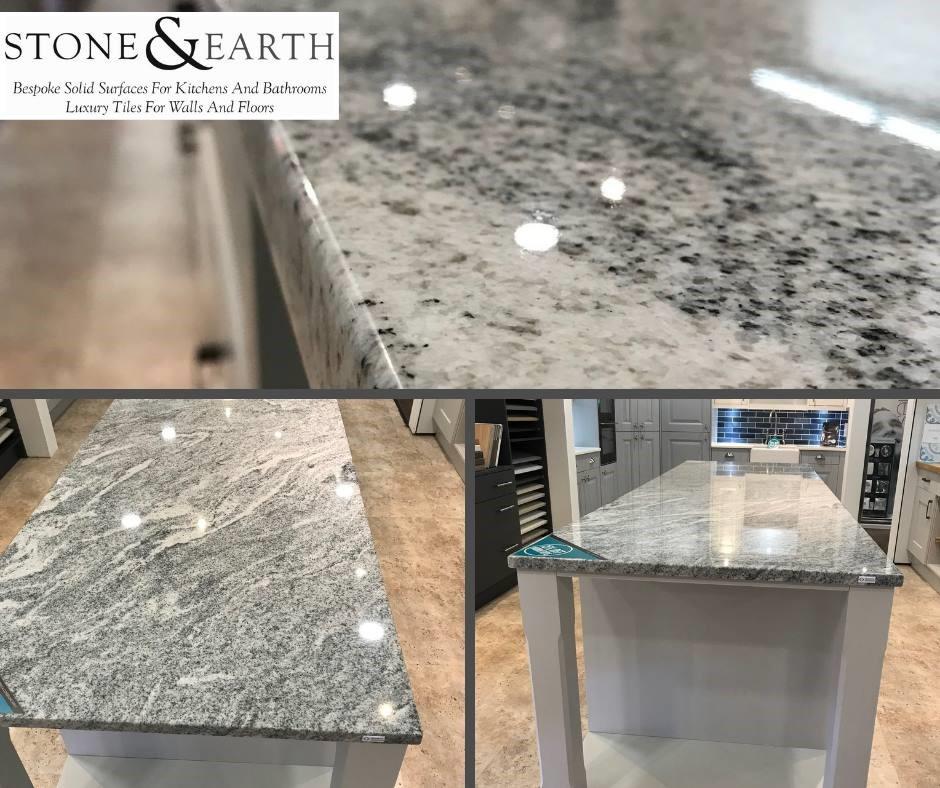 30mm Granite in Wiskont White by Brachot