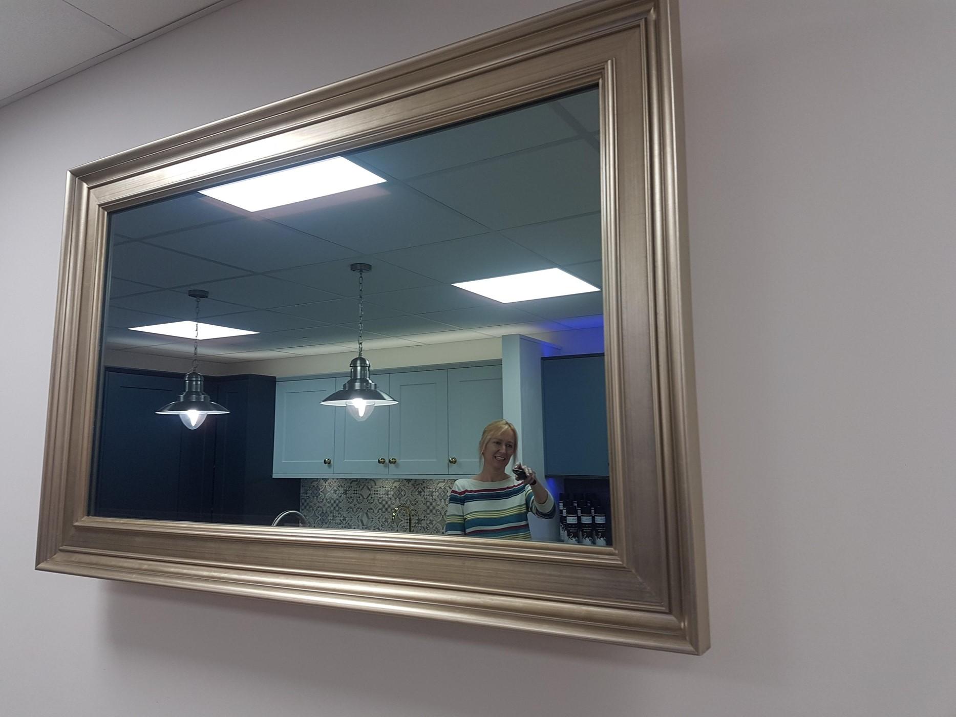 mirrored tvs