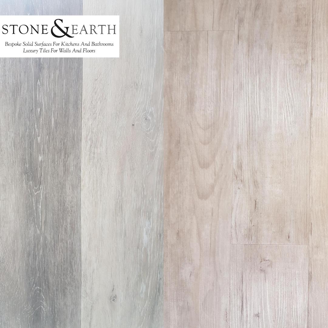 Ambiance Luxury Vinyl Floor Tiles Grey Oak White Oak